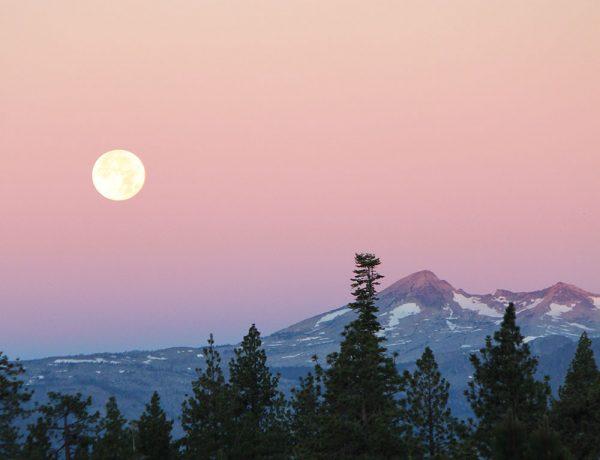 lunar landscape full moon pyramid peak