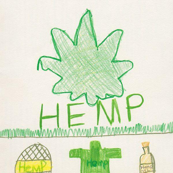 hemp illustration by Diem age 8